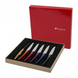 Coffret 6 couteaux Quartz Multicolore de chez Guy Degrenne