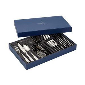 Fourchette, couteau, cuillière, petite cuillière Oscar de chez Villeroy & Boch