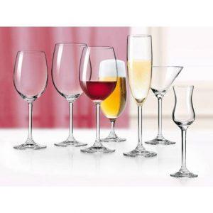 Verres à vins, eau et spiritueux , Verres à bière , Coupe et flûte Daily de chez Léonardo