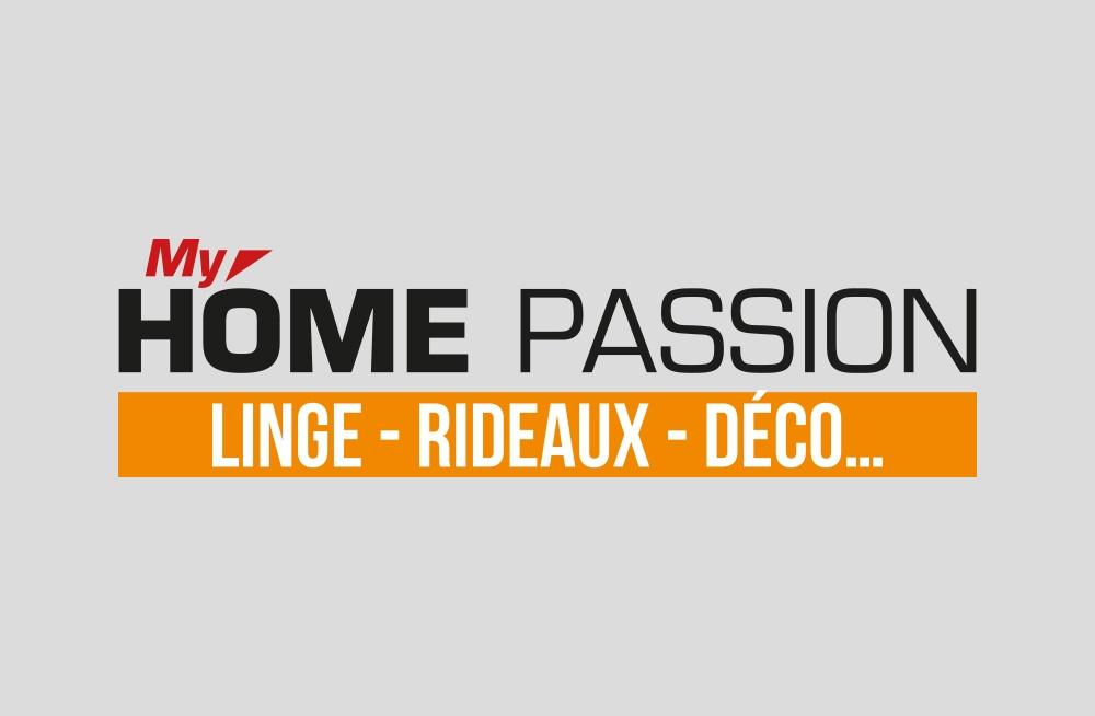 Logo My Home Passion - Déco - Linge - Rideaux