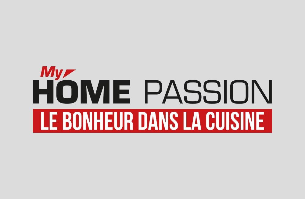 Logo My Home Passion Le Bonheur dans la cuisine